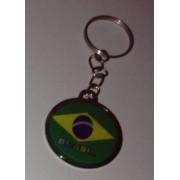 CHAVEIRO BRASIL CHAPINHA C6 PERSONALIZADO BRASIL (100 Pçs)