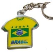 CHAVEIRO CAMISA BRASIL CHAPINHA (100 UNIDADES)