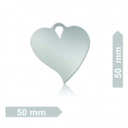 Chapinha C10 Coração GG (100 Unidades)