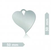 Chapinha C10 Coração GG (50 Unidades)