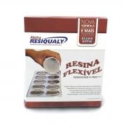 Kit Resina Flexível 345g + Endurecedor 155g Resiqualy
