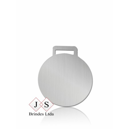 Chapinha C6 redonda para couro (100 pcs)