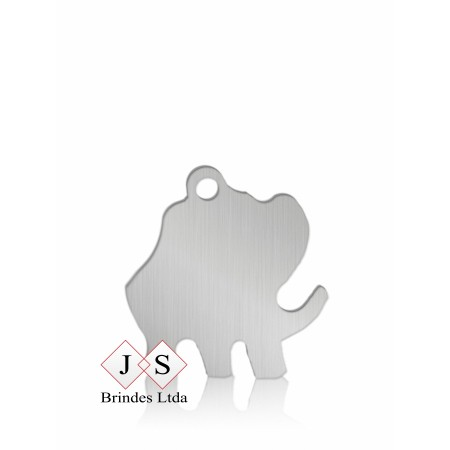 Chapinha P1- pingente Elefante para corrente (100 pçs)