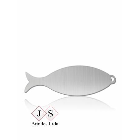 Chapinha C26 peixe para corrente (100 pçs)