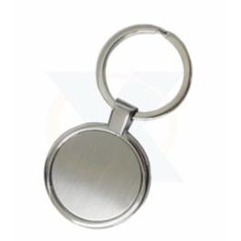 Chaveiro redondo de metal Ref:1655 (Caixa com 12 Pçs )