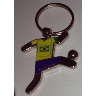 CHAVEIRO JOGADOR BRASIL PERSONALIZADO TEMA BRASIL (100 Pçs)