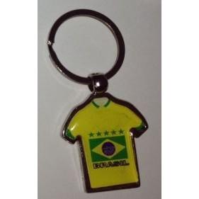 CHAVEIRO BRASIL CAMISA PERSONALIZADO BRASIL AMARELA  (100 Pçs)