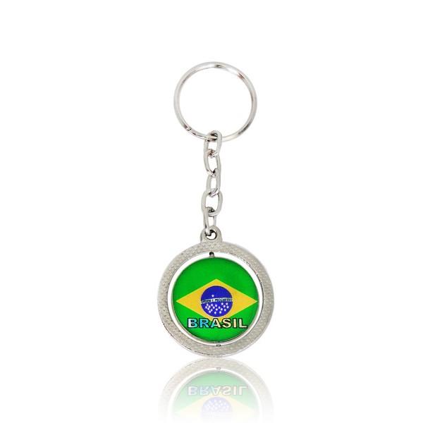 CHAVEIRO GIRATÓRIO AE1048 BRASIL (120 UNIDADES)