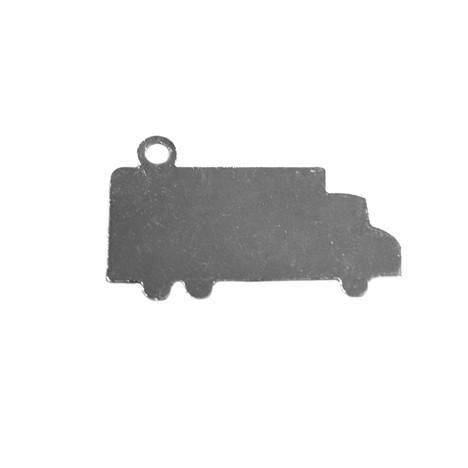Chapinha Para Chaveiro Formato de caminhão (100 PÇS)