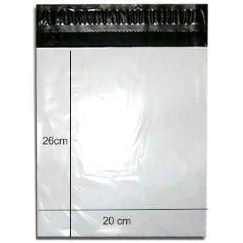 Envelope Plástico De Segurança Com Lacre ( 26x20 ) 10 Pçs