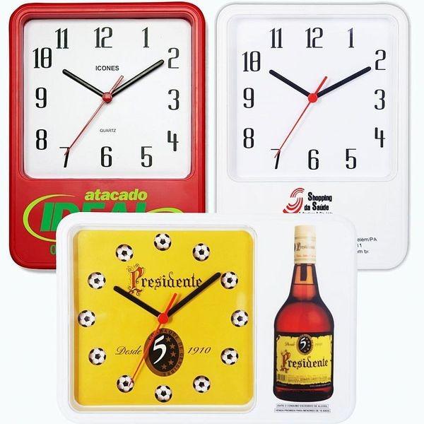 Kit de Relógio de Parede UNIVERSAL - 215 x 300 mm (5 Peças)