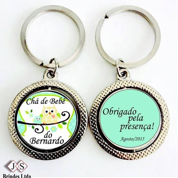 CHAVEIRO REDONDO GIRATÓRIO MS40 (50 UNIDADES)