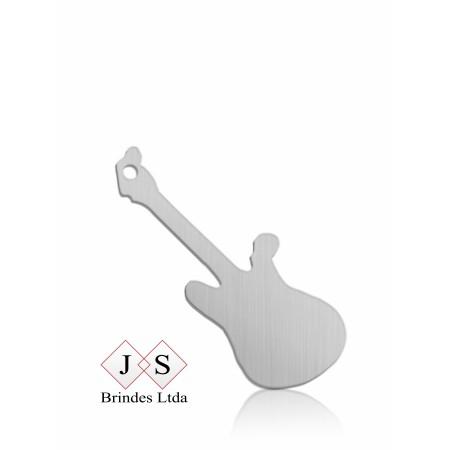Chapinha P09- pingente guitarra para corrente (100 pçs)