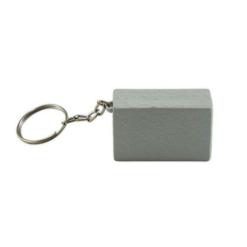 Chaveiro Bloco - Cinza (100 peças)