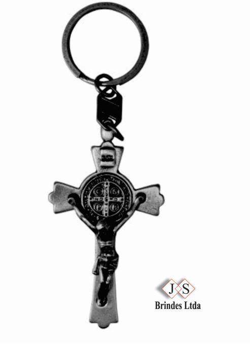 Chaveiro Cruz de São Bento   - (12 Unidades)