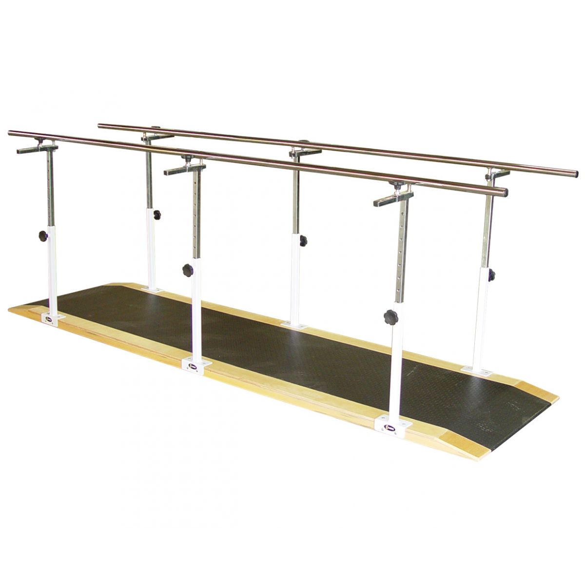 Barra paralela simples em aço pintado 3 metros - 1070