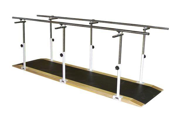 Barra paralela simples em aço inox 3 metros - 1070/I