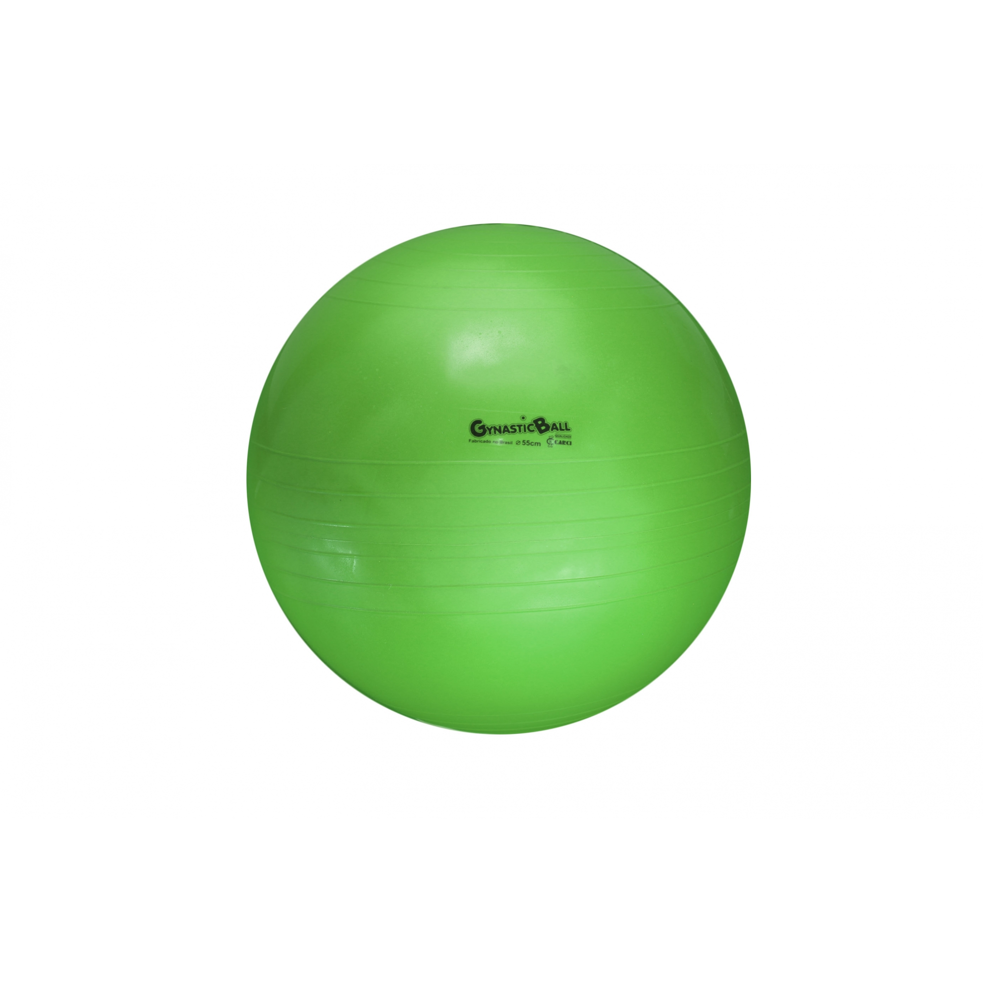 Bola suíça para pilates 55cm Gynastic Ball - Verde - BL.01.55.VD