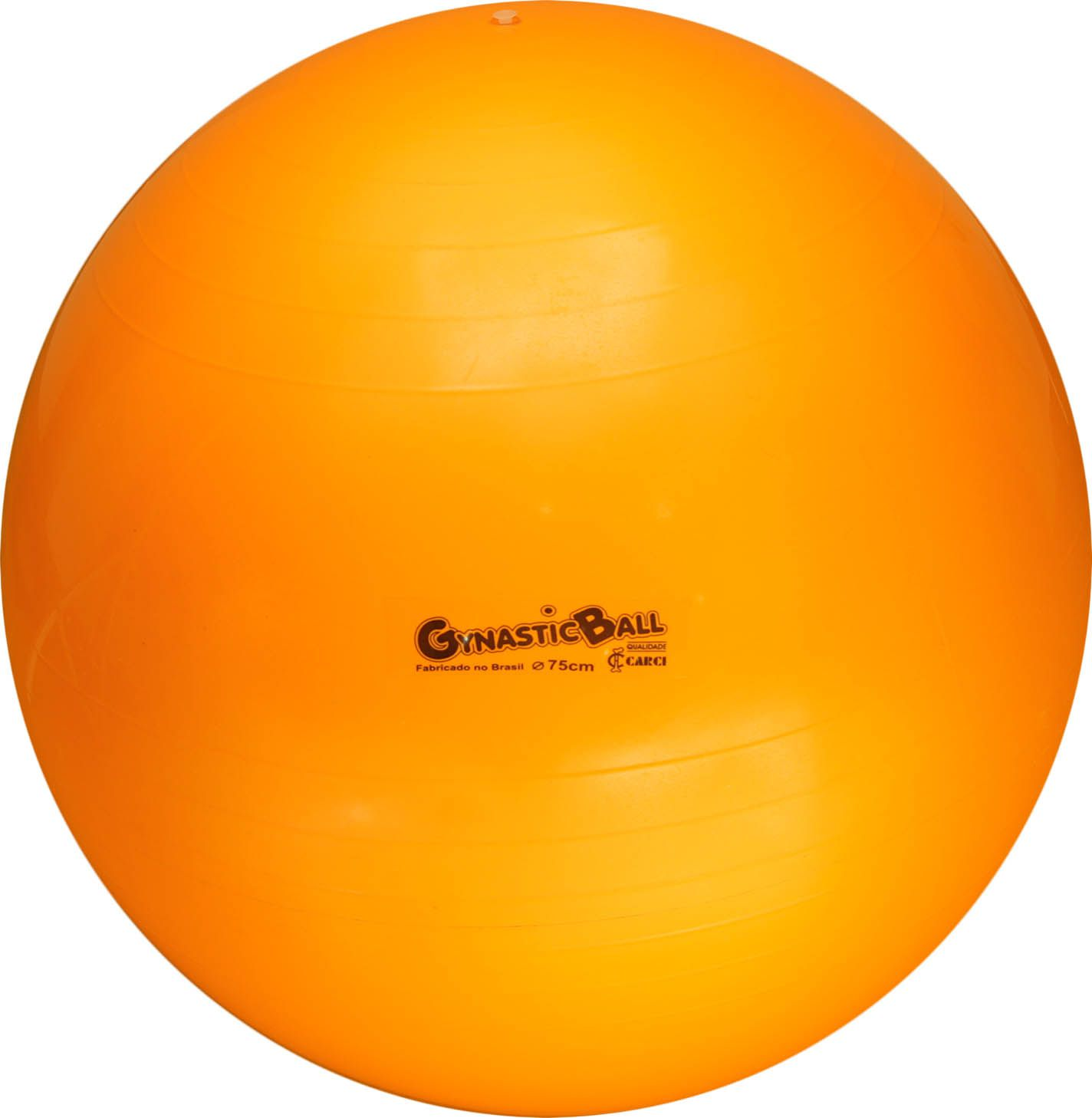 Bola suíça para pilates 75cm Gynastic Ball - laranja - BL.01.75