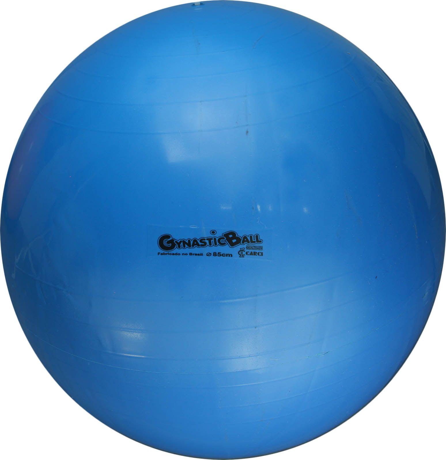 Bola suíça para pilates 85cm Gynastic Ball - azul - BL.01.85