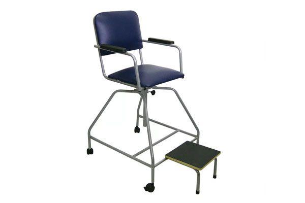 Cadeira para turbilhão de fisioterapia