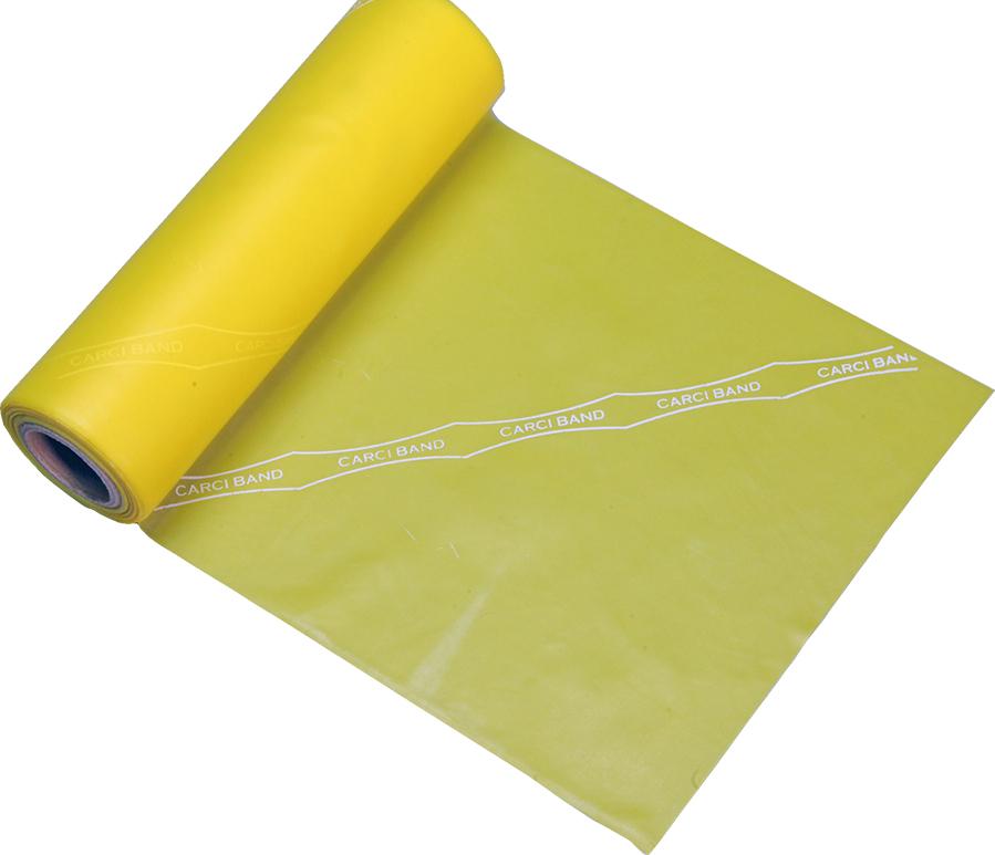 Carci Band - Rolo 46 m de faixa elástica - nº1 (amarela/ fraca) - RB.01.45246