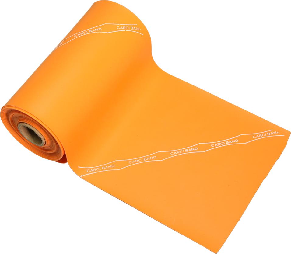 Carci Band - Rolo 23m de faixa elástica - nº7 (laranja / extra forte) - RB.01.500723
