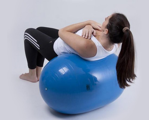 Bola feijão para pilates Carci Bean 30cm- RL.02.30VD