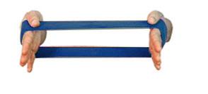 Carci Loop 30 x 10 cm - Azul Resistência Média-Forte - Ref. LC.01.531