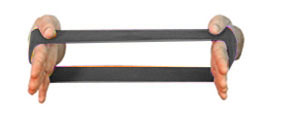 Carci Loop 30 x 10 cm Prata - Resistência Super Forte - Ref. LC.01.533