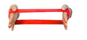 Carci Loop 30 x 10 cm Vermelha - Resistência Mega Forte - Ref. LC.01.535