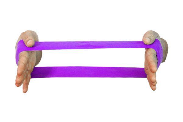 Carci Loop 45 x 10 cm - nº7 - roxa - LC.01.524