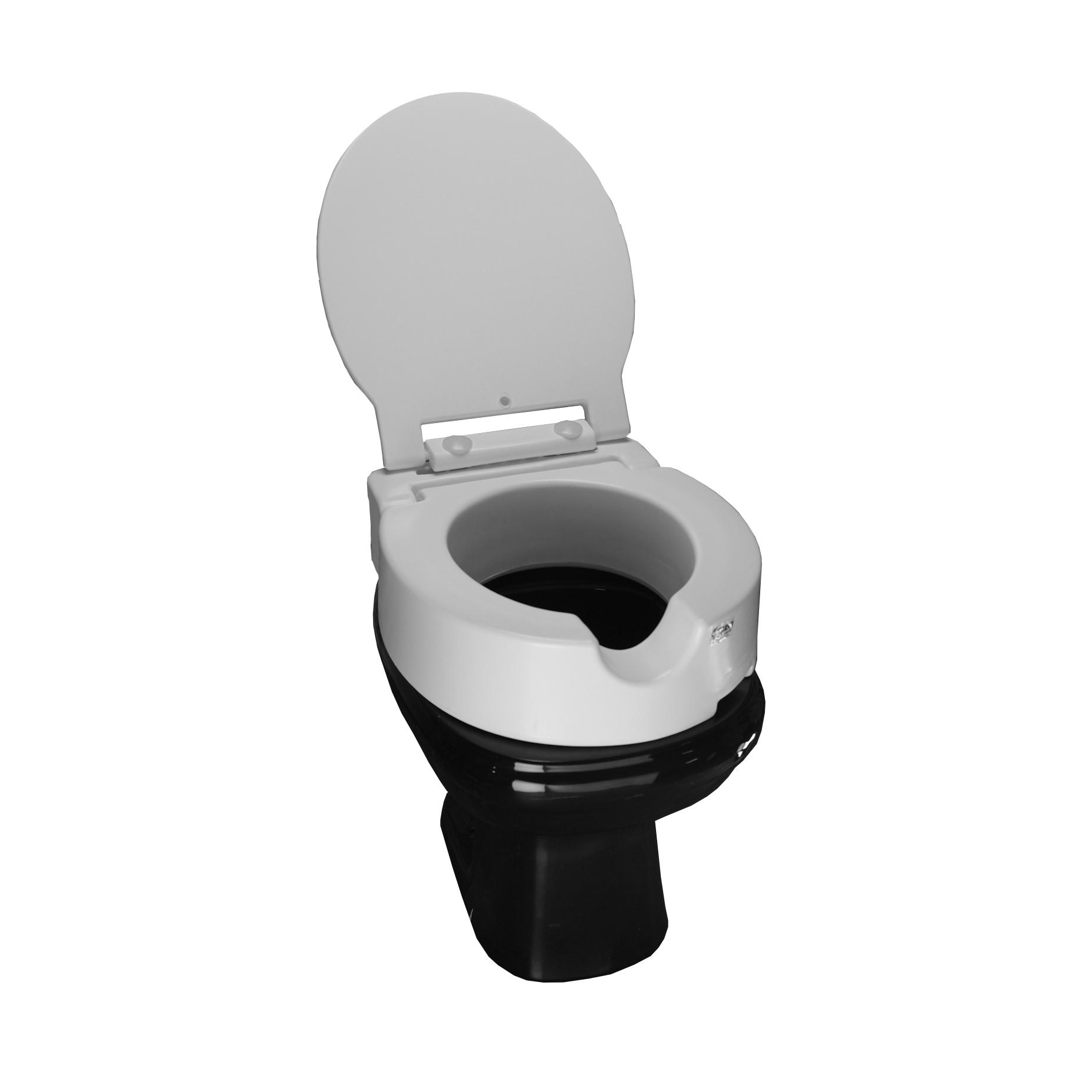 Elevador de assento sanitário articulado c/Tampa - SIT VII