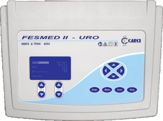 FES + TENS 2 canais 2 FESMED II URO - 4052ES