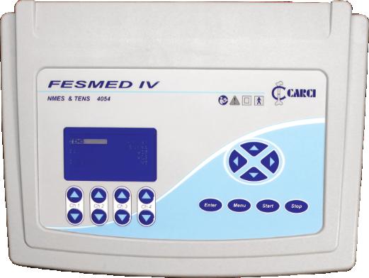 FES + TENS 4 canais FESMED IV - 4054