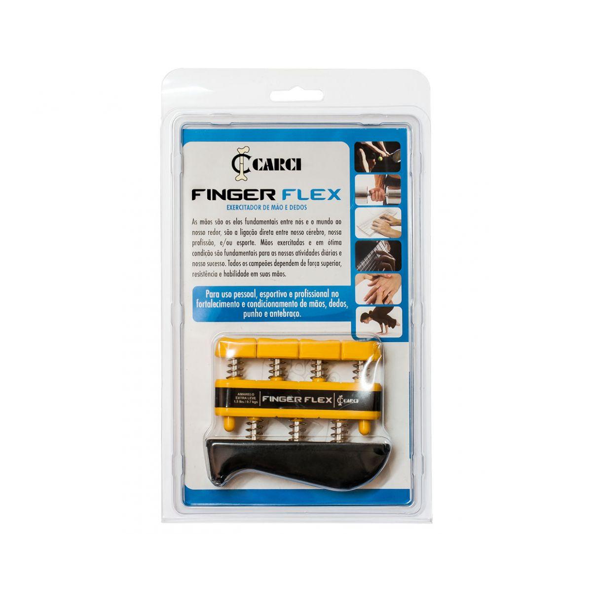 Finger Flex Preto: 9.0 lbs - 4,1 kg