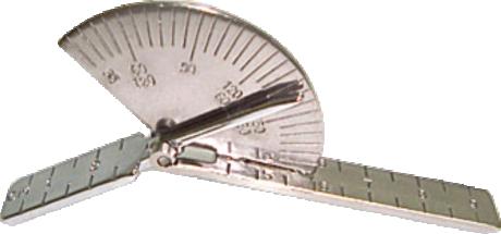 Goniômetro para dedo e pequenas articulacões Saehan 9 cm - SH5101