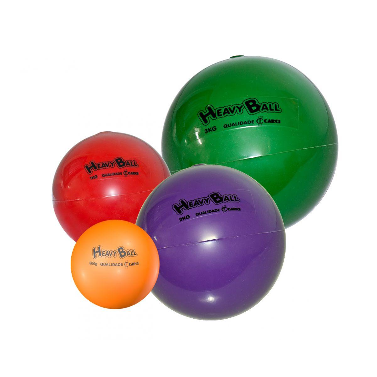 Bola p/ exercícios Heavy Ball 500g - BP.500