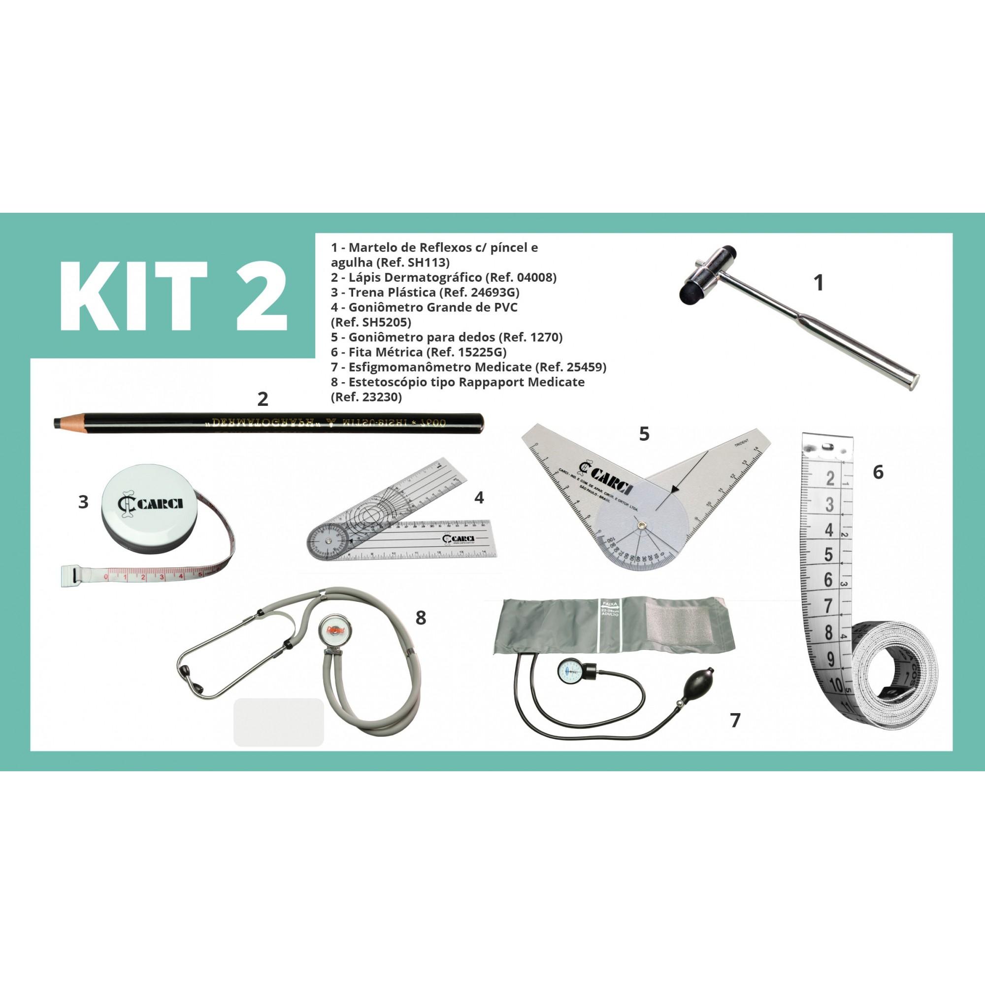KIT 2 - Volta às Aulas Carci