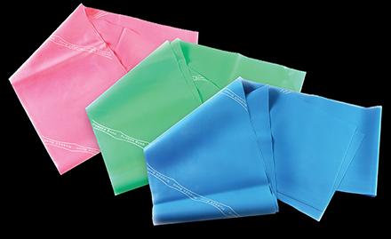 Kit Carci Band Leve (Rosa / Verde / Azul)