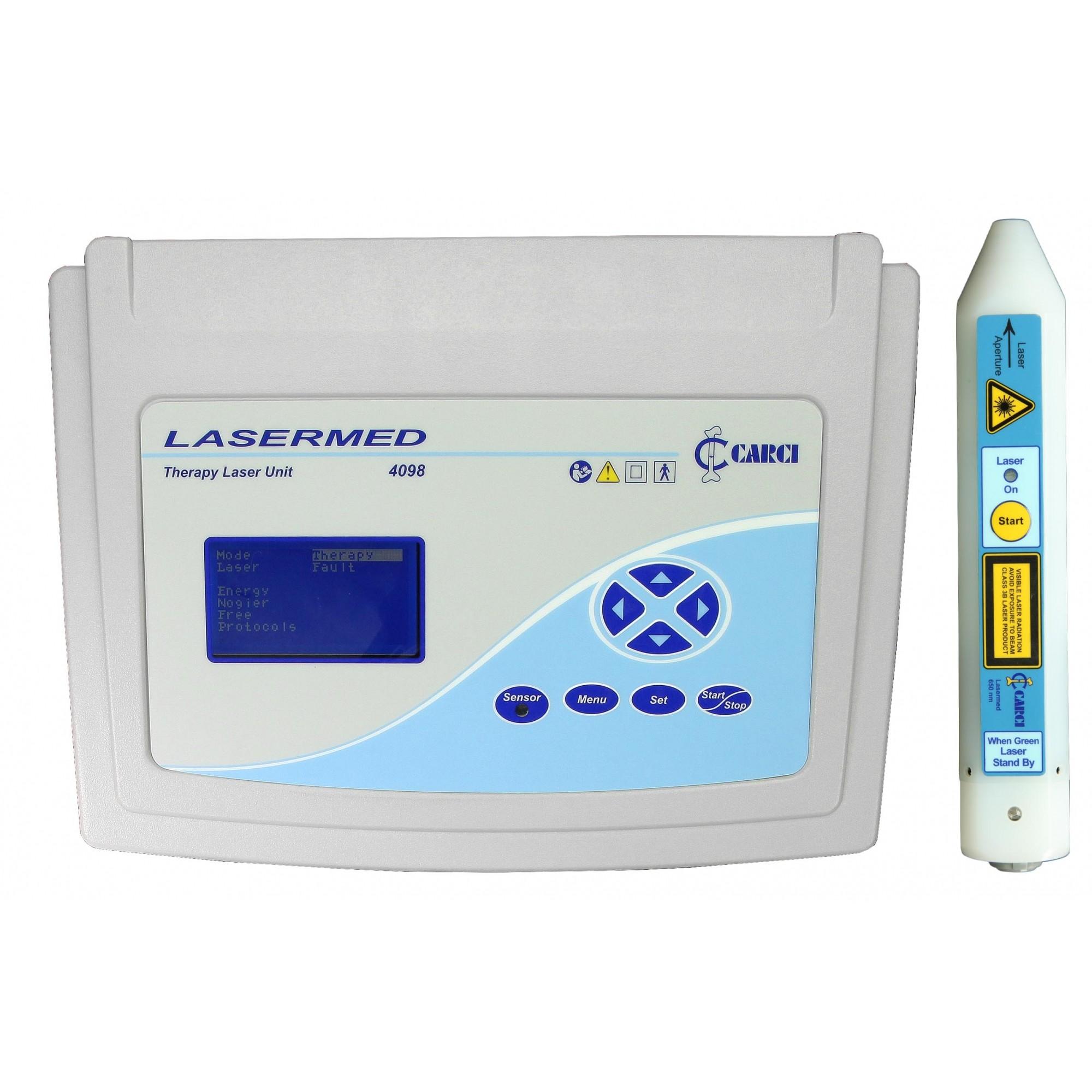 Laser para fisioterapia e caneta 650 nm - 4098+4095