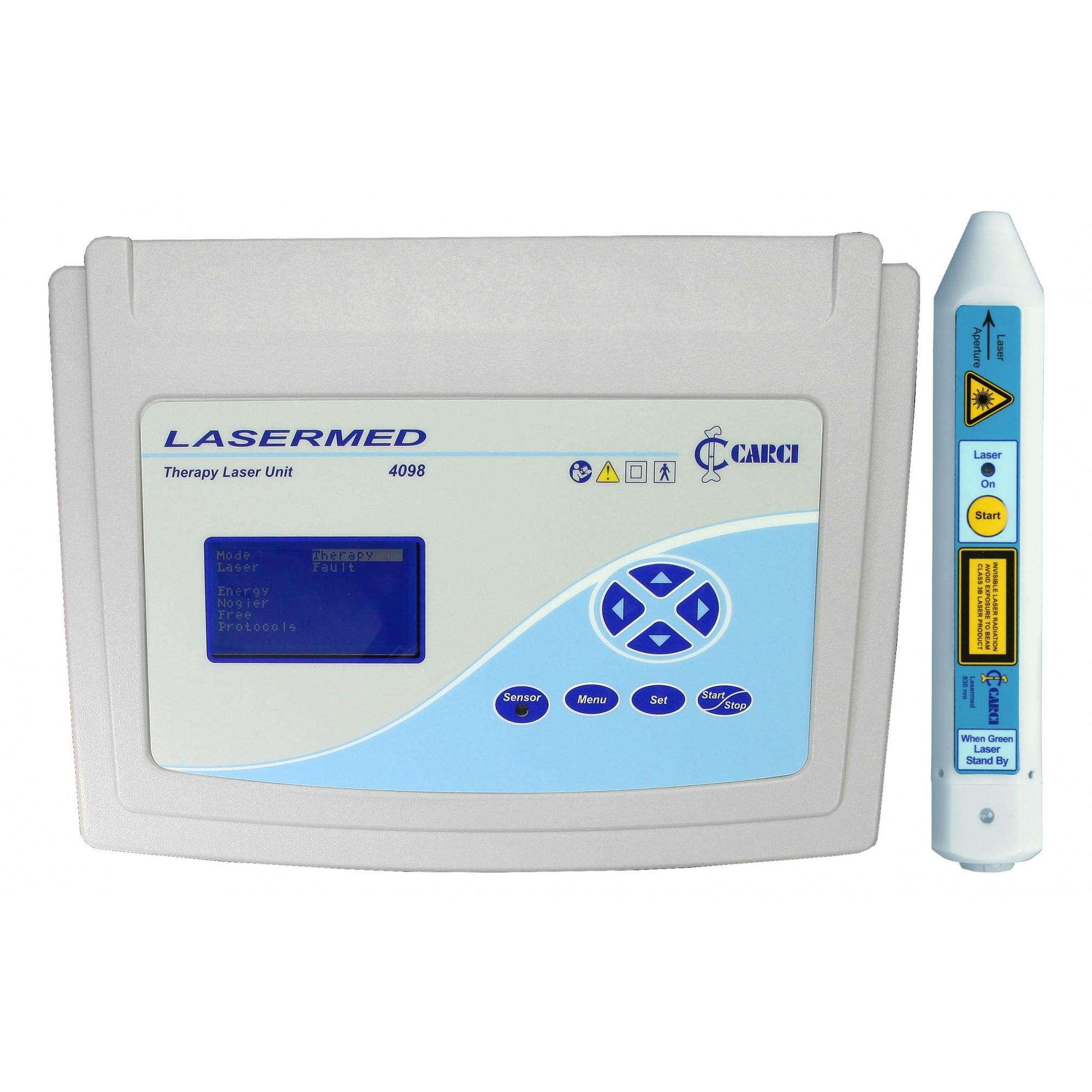 Laser para fisioterapia e caneta 830 nm - 4098+4093