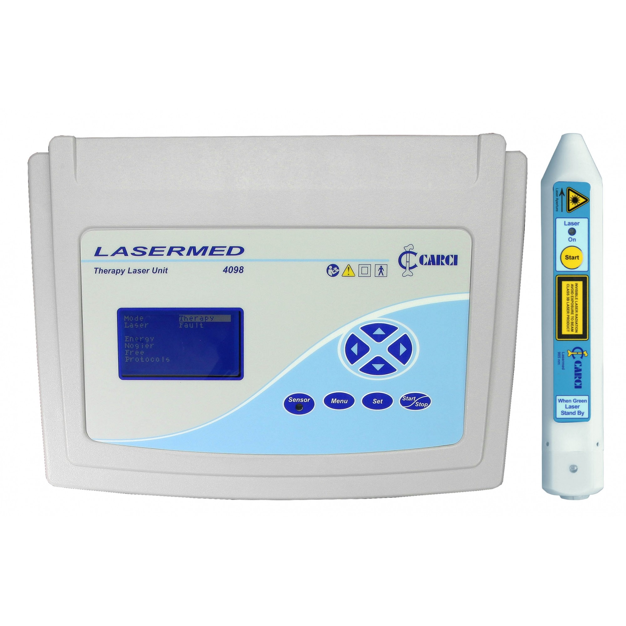 Laser para fisioterapia e caneta 905 nm - 4098+4097