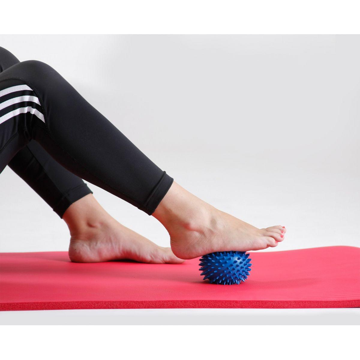 Bola para massagem Point Ball 10cm  - dura com cravos - PBD.10