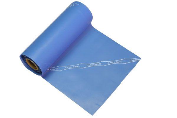 Carci Band - Rolo 5,5 m de faixa elástica - nº4 (azul / média forte) - RB.01.AZ.55