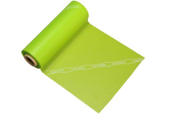 Carci Band - Rolo 5,5 m de faixa elástica - nº3 (verde / média) - RB.01.VD.55