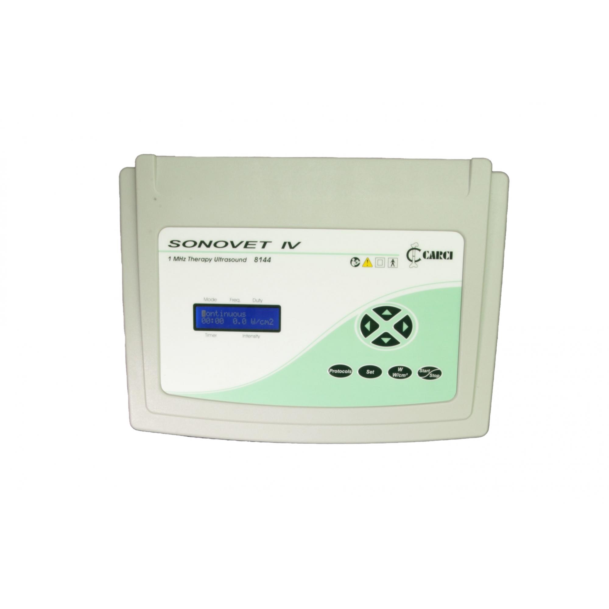 SONOVET - Ultrassom para fisioterapia 1 mhz  digital  -  8098VET
