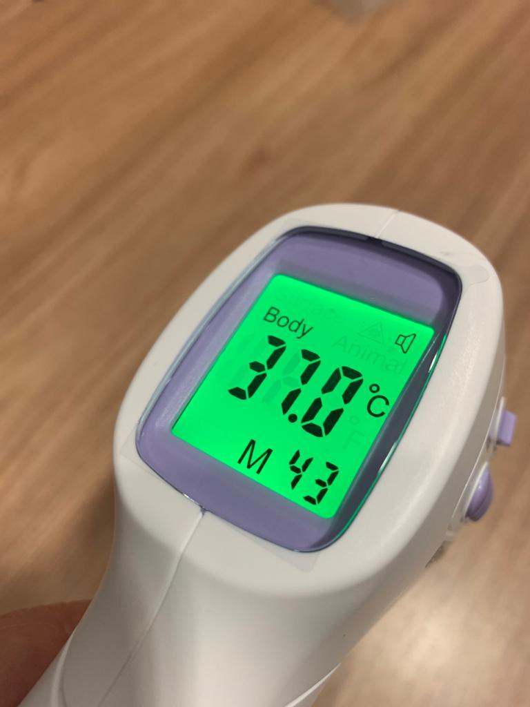 Termômetro Digital sem Contato