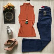 Calça Jeans Flare Básica