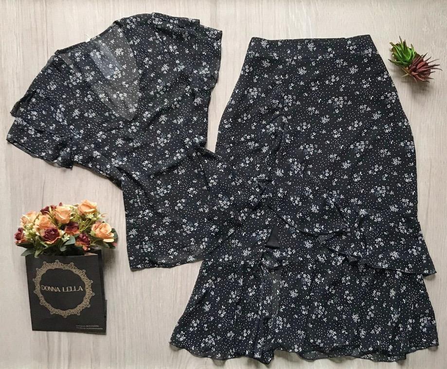 Blusa Bianca Floral